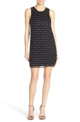 Women's Parker 'Hawthorn' Embellished Silk A Line Dress