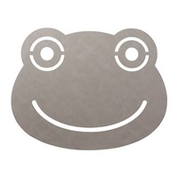 Lind Dna Frog Floor Mat 95X70cm Light Grey