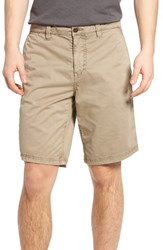 John Varvatos Men's Star Usa Triple Needle Shorts Twine
