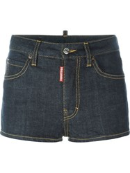 Dsquared2 Mini Denim Shorts Blue