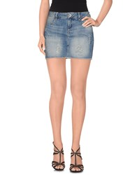 Guess Denim Denim Skirts Women Blue