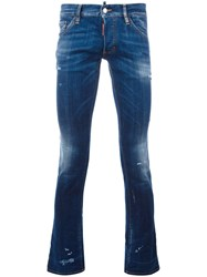 Dsquared2 Sexy Bootcut Jeans Blue