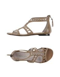 Premiata Footwear Sandals Women Khaki