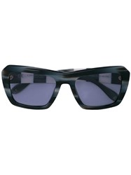 Carolina Herrera Oversized Frame Sunglasses Black