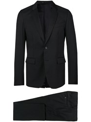 Mauro Grifoni Classic Two Piece Suit Black