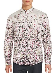 1...Like No Other Floral Print Cotton Shirt Multicolor