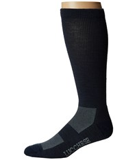 Lucchese Wool Socks Navy Men's Crew Cut Socks Shoes