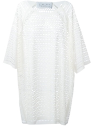 Gianluca Capannolo Cut Out Shift Dress