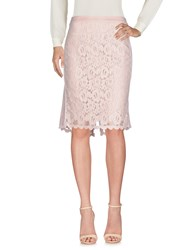 Marc Cain Knee Length Skirts Light Pink