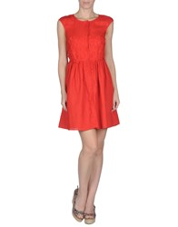 Ermanno Scervino Beachwear Cover Ups Red