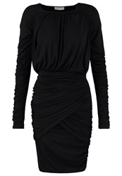 Stine Goya Balance Jersey Dress Black