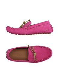 Dsquared2 Footwear Moccasins Men Fuchsia