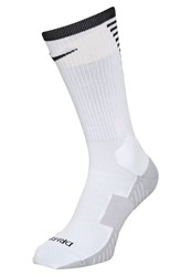Nike Performance Stadium Crew Sports Socks White Black