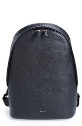 Paul Smith Men's City Webbing Leather Backpack
