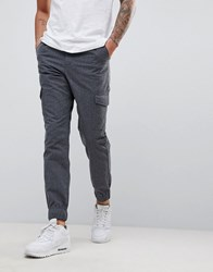 Another Influence Cargo Trousers Grey