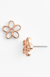 Marc By Marc Jacobs Daisy Stud Earrings Rose Gold