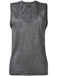 Isabel Marant Maik Tank Top Grey