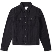 Saturdays Surf Nyc Emil Denim Jacket Black