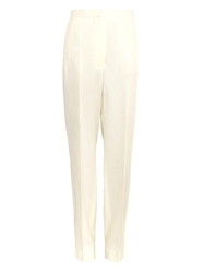Celine Wide Leg Crepe Trousers