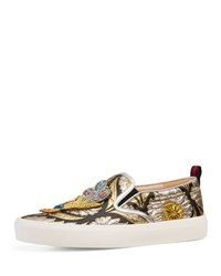 Gucci Dublin Flat Brocade Sneaker Multi Multi Colored