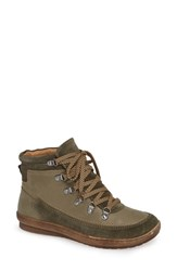 Comfortiva Cara Jean Boot Pale Olive Army Green