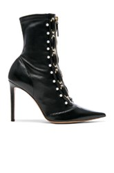 Altuzarra Elliot Laced Zipper Bootie In Black