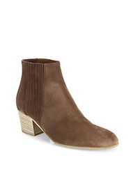 Vince Haider Suede Ankle Boots Saddle