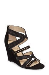 Jessica Simpson Women's Zenolia Strappy Embellished Wedge