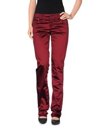 Galliano Trousers Casual Trousers Women Maroon