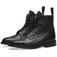 Tricker's Calvert Toe Cap Boot Black