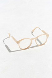 Urban Outfitters Heavy Round Readers Cream