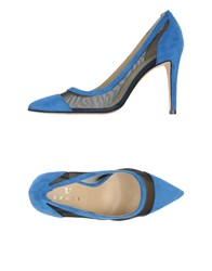 Space Style Concept Footwear Courts Women Bright Blue