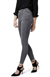 Women's Topshop High Rise Crop Skinny Jeans