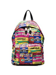 Moschino Patchwork Sweets Print Backpack 60