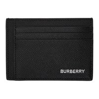 Burberry Black Chase Business Card Holder