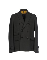 Domenico Tagliente Coats Dark Green