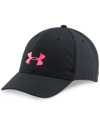 Under Armour Renegade Hat Black Harmony Red