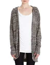 Bench Aqueduct Heathered Cardigan Dark Shadow
