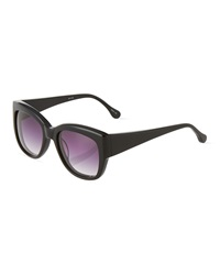 Givenchy Marion Thick Frame Sunglasses Black