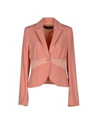 Love Moschino Suits And Jackets Blazers Women Salmon Pink