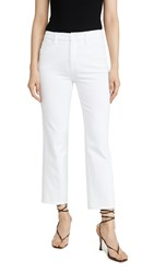 Good American Curve Straight Jeans White011
