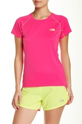 The North Face Short Sleeve Voltage Tee Pink