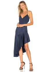 Misha Collection Madelyn Dress Navy