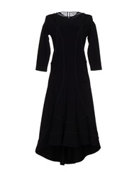 Dirk Bikkembergs Knee Length Dresses Black