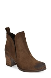 Women's Bos. And Co. 'Belfield' Waterproof Chelsea Boot Moss Oilsuede