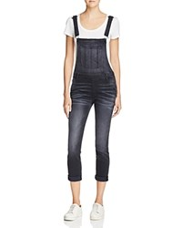 Black Orchid The Skinny Overalls In Coal