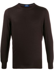 Barba Ribbed Neck Jumper 60