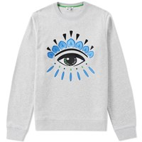 Kenzo Eye Crew Sweat Grey