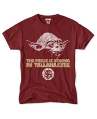 Tailgate Clothing Men's Florida State Seminoles Yoda Force Is Strong T Shirt