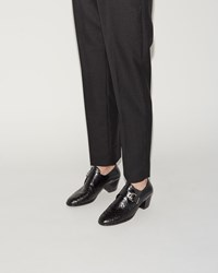 Robert Clergerie Morris Heeled Oxford Black